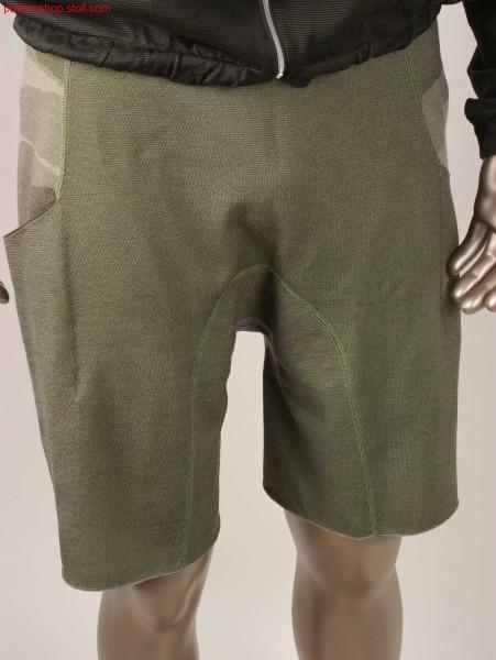 Shorts in camouflage look / Kurze Hose in Camouflage-Optik