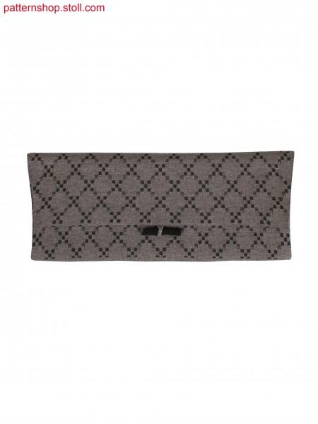 Fully Fashion 2 colour jacquard bag