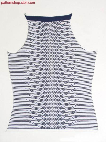 Fully Fashion front in snakeskin look / Fully Fashion Vorderteil in Schlangenlederoptik