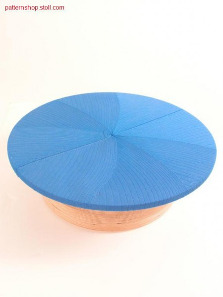 Round stool cover / Rundhockerbezug
