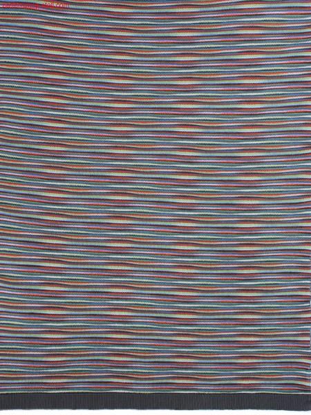 7-colour striped structured jersey fabric / 7-farbig geringeltes, strukturiertes Rechts-Links Gestrick