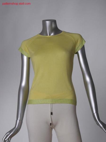 FF-jersey raglan T-shirt / FF-Rechts-Links Raglan T-Shirt