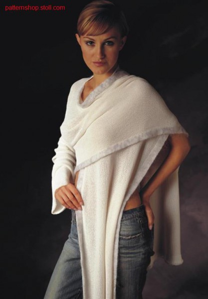 FF-Intarsia scarf / FF-Intarsien Schal