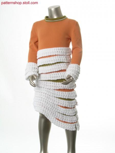 Fully Fashion children's frilled dress / Fully Fashion R