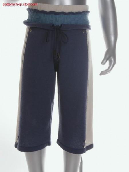 Fully Fashion-intarsia children's knee breeches / Fully Fashion-Intarsia Kinder-Kniehose