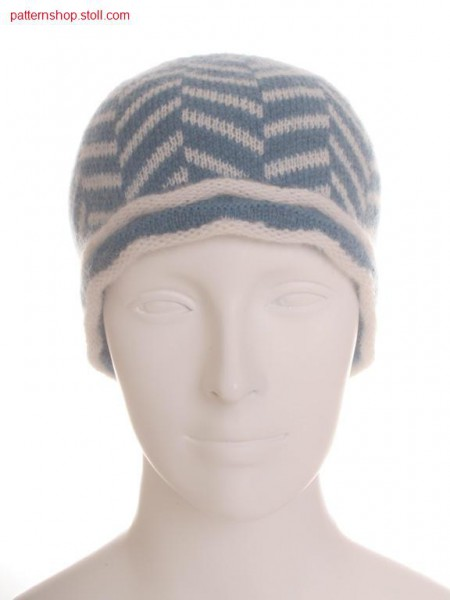 Cap with 2-colour jacquard / M