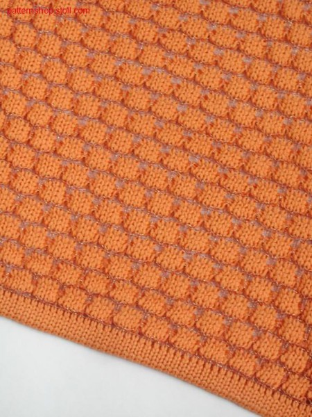 2-colour ringed tuck structure pattern 7 2-farbig geringeltes Fang-Strukturmuster