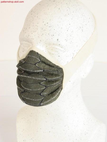 Fine dust mask in 3D origami design / Feinstaubmaske in 3D-Origami Design