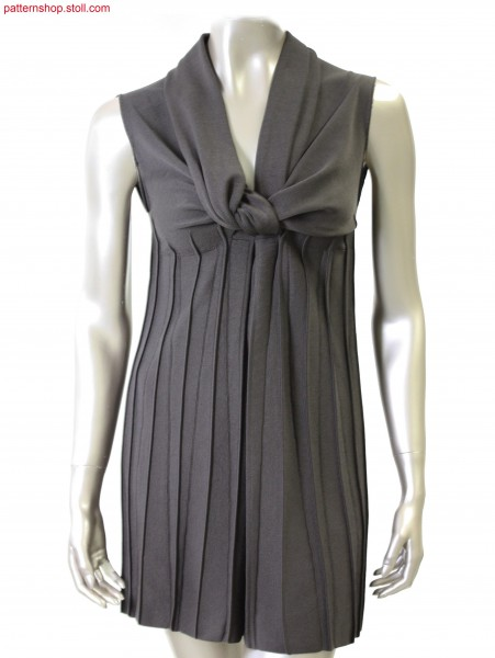 Sleeveless Fully Fashion empire dress /