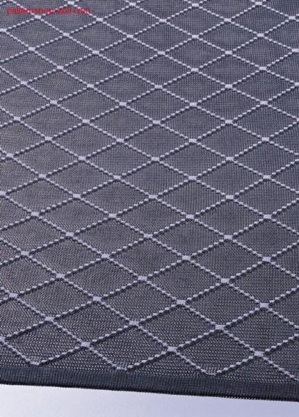 Jersey fabric with rhombus-intarsia pattern / Rechts-Links Gestrick mit Intarsia-Rautenmuster