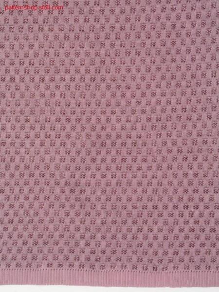 2-colour tubular knitted fabric with grain of rice structure/ 2-farbiges Schlauchgestrick mit Reiskornstruktur
