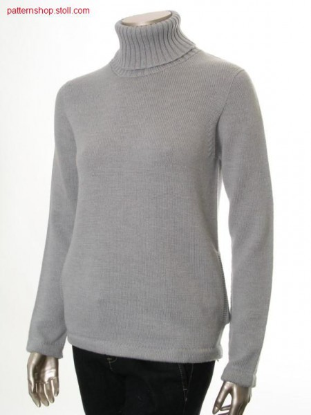 Jersey Pullover with side slit pockets
