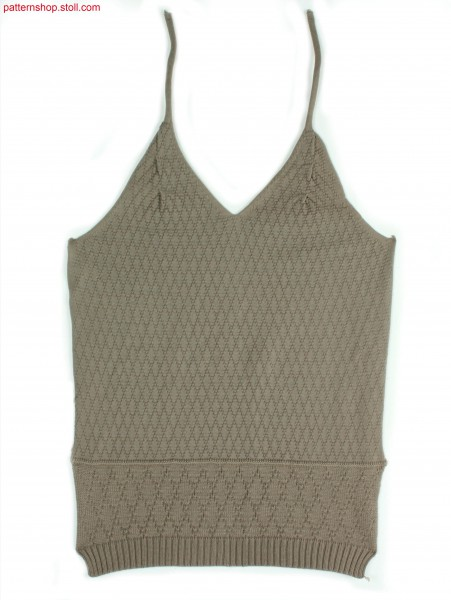 Fully Fashion halter-neck top / Fully Fashion Neckholder-Top