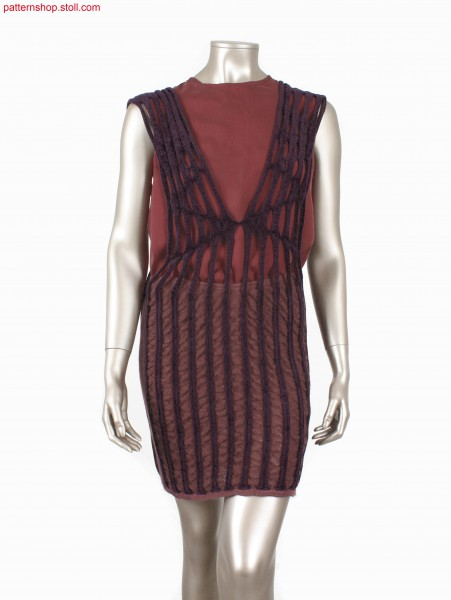 Fully Fashion dress, knitted in one piece / In einem Teil gestricktes Fully Fashion Kleid