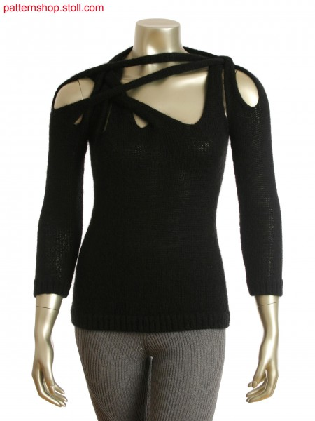 Fully fashion top with separate sleeves