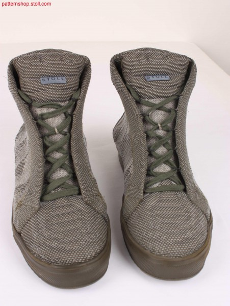 Boots in camouflage-look / Stiefel im Camouflage-look