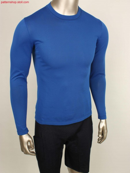 First layer long-sleeve Pullover / Unterzieh-Langarmpullover