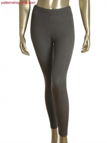 Fully Fashion 2x2 rib leggings with gore technique