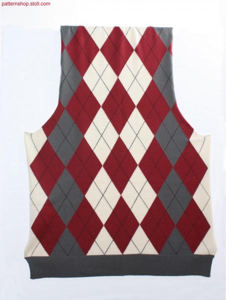 Fully Fashion argyle intarsia pattern / Fully Fashion Argyle Intarsiamuster