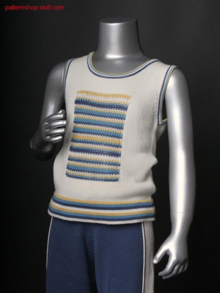 Sleevless Fully Fashion children's pullover /