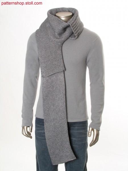 Tubular scarf in layering look / Schlauchschal im Lagen-Look