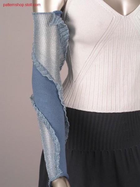 Intarsia arm warmer / Intarsia Armstulpe