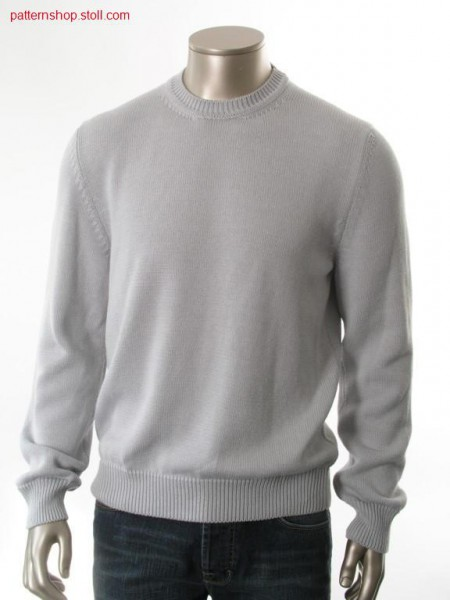 Fully fashion jersey basic pullover  / Fully Fashion Rechts-Links Basic-Pullover