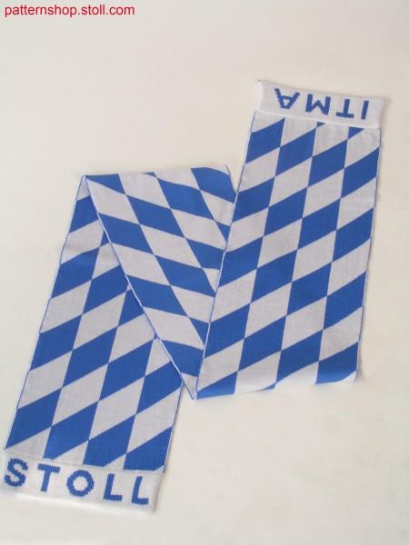 Cross-tubular scarf / Kreuzschlauch Schal