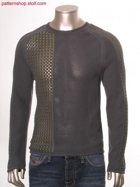 Fully fashion intarsia pullover / Fully Fashion Intarsia Pullover
