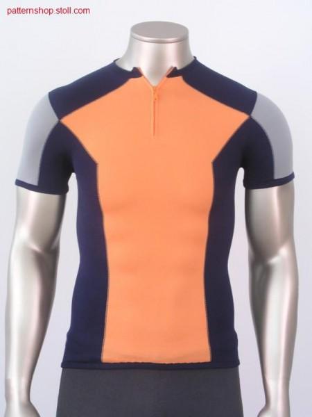 Intarsia short-sleeve pullover / Intarsia kurzarm Pullover
