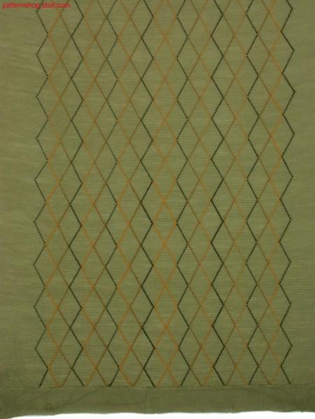 Argyle intarsia pattern / Argyle Intarsia-Muster