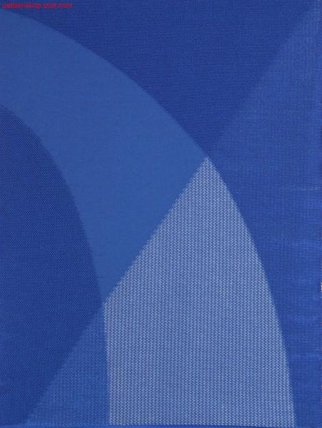 Swatch with selective plush stitch areas / Musterabschnitt mit selektiven Plüschbereichen