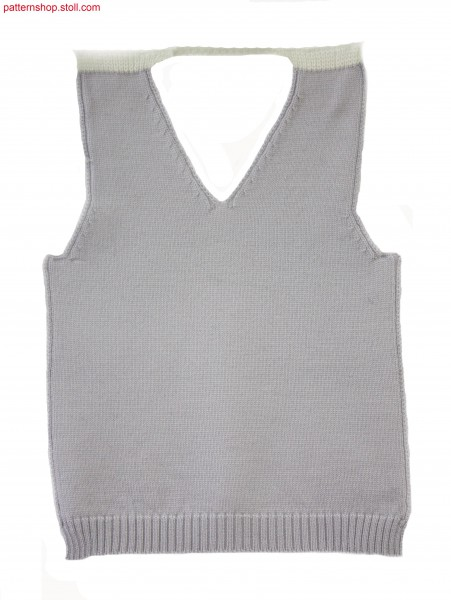 Fully Fashion mini front with V-neck / Fully Fashion Mini-Vorderteil mit V-Ausschnitt